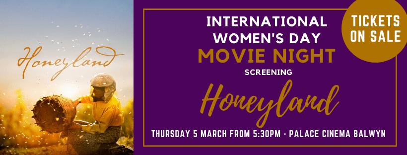 International Women's Day Movie Night screening Honeyland